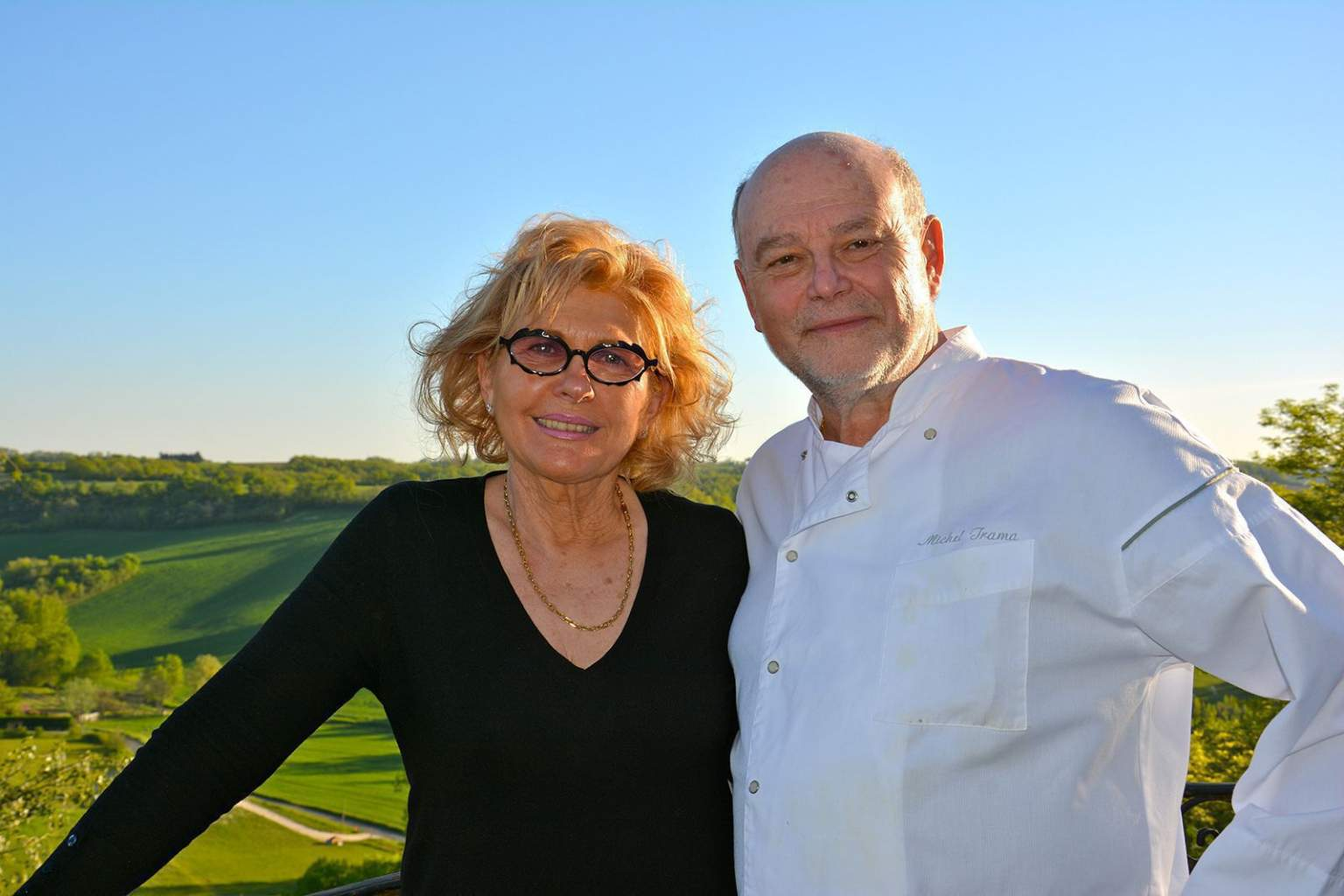 <div>Maryse and Michel Trama Relais & Chateaux South Ouest</div>